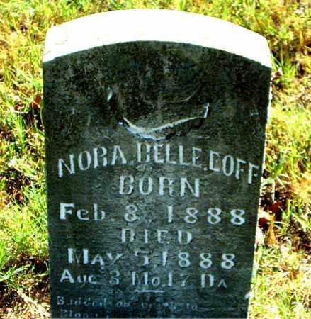 EOFF, NORA BELLE - Boone County, Arkansas | NORA BELLE EOFF - Arkansas Gravestone Photos