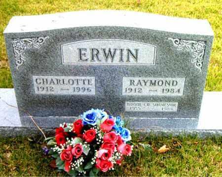 ERWIN, RAYMOND - Boone County, Arkansas | RAYMOND ERWIN - Arkansas Gravestone Photos
