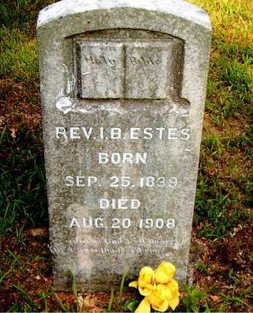 ESTES, ISAAC BASCOM - Boone County, Arkansas   ISAAC BASCOM ESTES - Arkansas Gravestone Photos