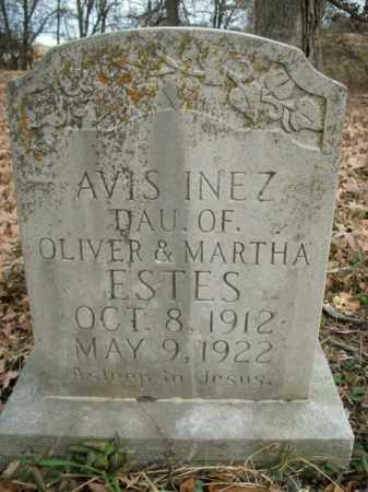ESTES, AVIS INEZ - Boone County, Arkansas | AVIS INEZ ESTES - Arkansas Gravestone Photos