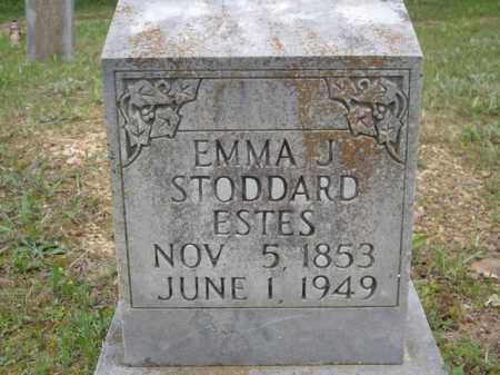 ESTES, EMMA J. - Boone County, Arkansas | EMMA J. ESTES - Arkansas Gravestone Photos