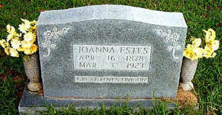 ESTES, JOANNA - Boone County, Arkansas | JOANNA ESTES - Arkansas Gravestone Photos