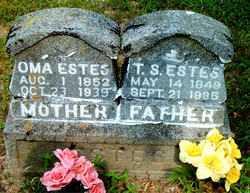 ESTES, NAOMI MAY (OMA) - Boone County, Arkansas | NAOMI MAY (OMA) ESTES - Arkansas Gravestone Photos