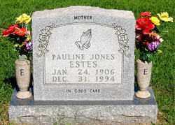 JONES ESTES, PAULINE - Boone County, Arkansas | PAULINE JONES ESTES - Arkansas Gravestone Photos