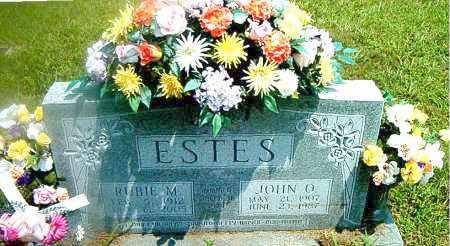 ESTES, JOHN ONIE - Boone County, Arkansas | JOHN ONIE ESTES - Arkansas Gravestone Photos