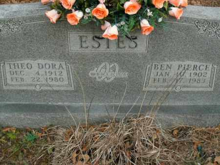 ESTES, THEO DORA - Boone County, Arkansas | THEO DORA ESTES - Arkansas Gravestone Photos