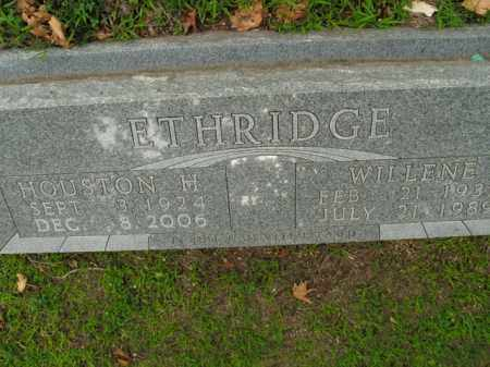 ETHRIDGE, HOUSTON H. - Boone County, Arkansas | HOUSTON H. ETHRIDGE - Arkansas Gravestone Photos