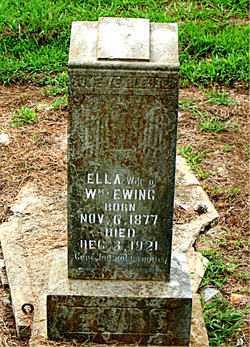 EWING, ELLA - Boone County, Arkansas | ELLA EWING - Arkansas Gravestone Photos