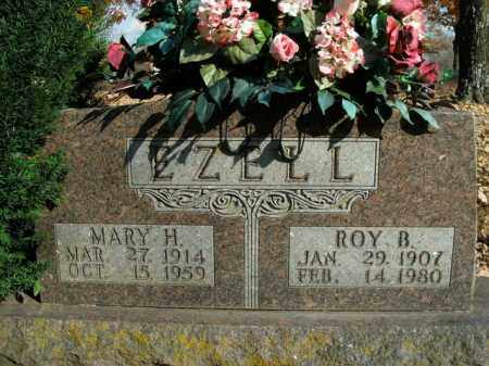 EZELL, MARY H. - Boone County, Arkansas | MARY H. EZELL - Arkansas Gravestone Photos