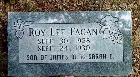 FAGAN, ROY LEE - Boone County, Arkansas   ROY LEE FAGAN - Arkansas Gravestone Photos