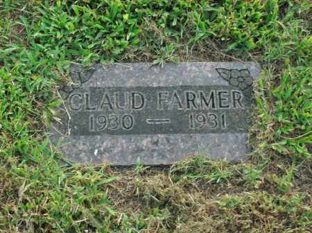 FARMER, CLAUD - Boone County, Arkansas | CLAUD FARMER - Arkansas Gravestone Photos