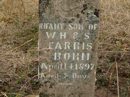 FARRIS, INFANT SON - Boone County, Arkansas | INFANT SON FARRIS - Arkansas Gravestone Photos