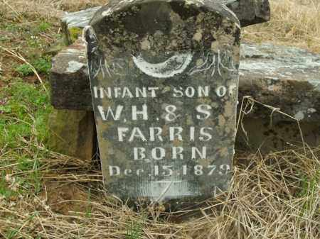 FARRIS, INFANT SON - Boone County, Arkansas | INFANT SON FARRIS - Arkansas Gravestone Photos
