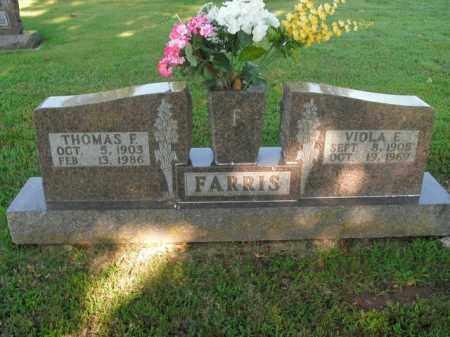 FARRIS, THOMAS F. - Boone County, Arkansas   THOMAS F. FARRIS - Arkansas Gravestone Photos
