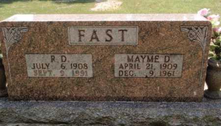 FAST, MAYME D. - Boone County, Arkansas | MAYME D. FAST - Arkansas Gravestone Photos