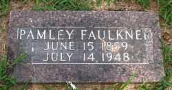 FAULKNER, PAMLEY - Boone County, Arkansas   PAMLEY FAULKNER - Arkansas Gravestone Photos