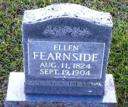 FEARNSIDE, ELLEN - Boone County, Arkansas | ELLEN FEARNSIDE - Arkansas Gravestone Photos
