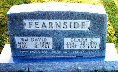 FEARNSIDE, CLARA  C. - Boone County, Arkansas | CLARA  C. FEARNSIDE - Arkansas Gravestone Photos