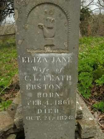 FEATHERSTON, ELIZA JANE - Boone County, Arkansas | ELIZA JANE FEATHERSTON - Arkansas Gravestone Photos