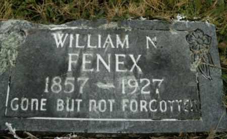 FENEX, WILLIAM N. - Boone County, Arkansas   WILLIAM N. FENEX - Arkansas Gravestone Photos