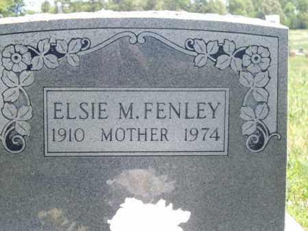 FENLEY, ELSIE M. - Boone County, Arkansas   ELSIE M. FENLEY - Arkansas Gravestone Photos