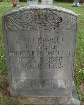 FERRELL, J. S. - Boone County, Arkansas | J. S. FERRELL - Arkansas Gravestone Photos