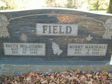 HOLCOMBE FIELD, EDITH - Boone County, Arkansas | EDITH HOLCOMBE FIELD - Arkansas Gravestone Photos