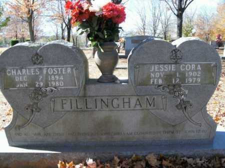 FILLINGHAM, JESSIE CORA - Boone County, Arkansas | JESSIE CORA FILLINGHAM - Arkansas Gravestone Photos