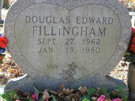 FILLINGHAM, DOUGLAS EDWARD - Boone County, Arkansas | DOUGLAS EDWARD FILLINGHAM - Arkansas Gravestone Photos