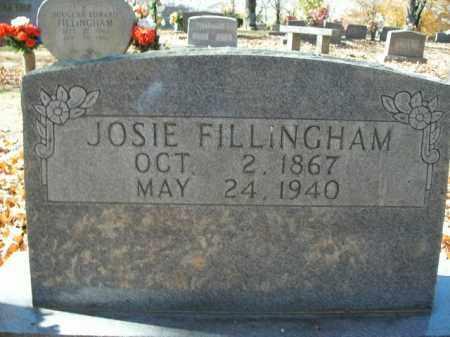 FILLINGHAM, JOSIE - Boone County, Arkansas   JOSIE FILLINGHAM - Arkansas Gravestone Photos