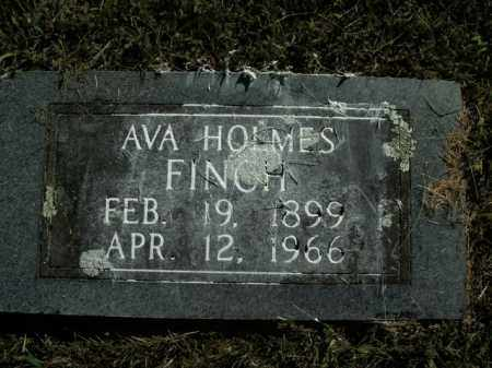 HOLMES FINCH, AVA - Boone County, Arkansas | AVA HOLMES FINCH - Arkansas Gravestone Photos
