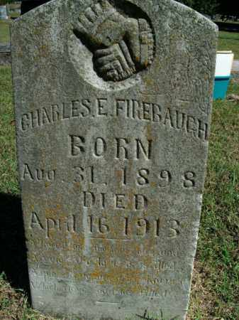 FIREBAUGH, CHARLES E. - Boone County, Arkansas | CHARLES E. FIREBAUGH - Arkansas Gravestone Photos