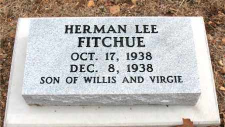FITCHUE, HERMAN LEE - Boone County, Arkansas | HERMAN LEE FITCHUE - Arkansas Gravestone Photos