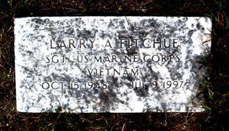 FITCHUE  (VETERAN VIET), LARRY A. - Boone County, Arkansas | LARRY A. FITCHUE  (VETERAN VIET) - Arkansas Gravestone Photos