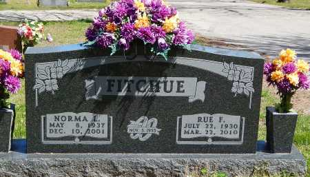 FITCHUE, NORMA L. - Boone County, Arkansas | NORMA L. FITCHUE - Arkansas Gravestone Photos