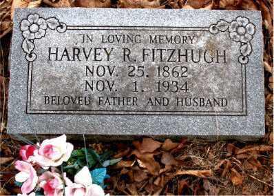 FITZHUGH, HARVEY R. - Boone County, Arkansas   HARVEY R. FITZHUGH - Arkansas Gravestone Photos