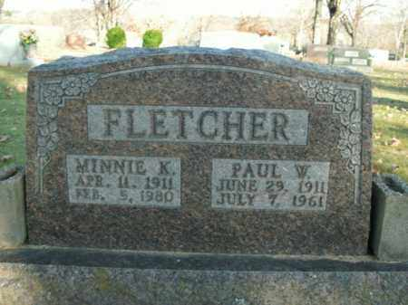 FLETCHER (VETERAN WWII), PAUL W. - Boone County, Arkansas | PAUL W. FLETCHER (VETERAN WWII) - Arkansas Gravestone Photos