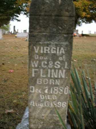 FLINN, VIRGIA - Boone County, Arkansas | VIRGIA FLINN - Arkansas Gravestone Photos