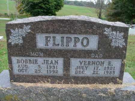 FLIPPO, VERNON E. - Boone County, Arkansas | VERNON E. FLIPPO - Arkansas Gravestone Photos