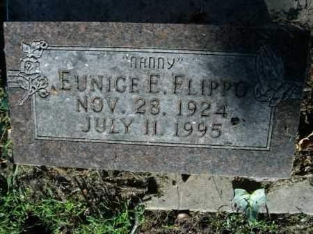 FLIPPO, EUNICE E. - Boone County, Arkansas   EUNICE E. FLIPPO - Arkansas Gravestone Photos