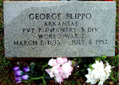 FLIPPO  (VETERAN WWI), GEORGE - Boone County, Arkansas | GEORGE FLIPPO  (VETERAN WWI) - Arkansas Gravestone Photos