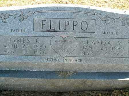 FLIPPO, CLARISA M. - Boone County, Arkansas | CLARISA M. FLIPPO - Arkansas Gravestone Photos