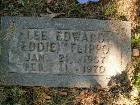 FLIPPO, LEE EDWARD - Boone County, Arkansas | LEE EDWARD FLIPPO - Arkansas Gravestone Photos