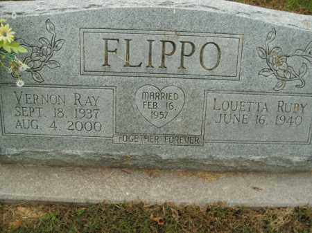FLIPPO, VERNON RAY - Boone County, Arkansas | VERNON RAY FLIPPO - Arkansas Gravestone Photos