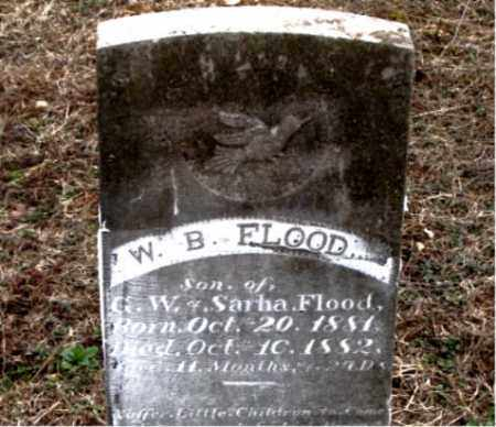FLOOD, W.  B. - Boone County, Arkansas | W.  B. FLOOD - Arkansas Gravestone Photos
