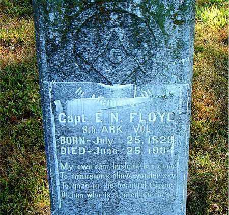 FLOYD  (VETERAN CSA), E.N. - Boone County, Arkansas | E.N. FLOYD  (VETERAN CSA) - Arkansas Gravestone Photos