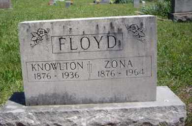 FLOYD, KNOWLTON - Boone County, Arkansas | KNOWLTON FLOYD - Arkansas Gravestone Photos