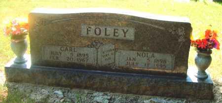 FOLEY, NOLA - Boone County, Arkansas | NOLA FOLEY - Arkansas Gravestone Photos