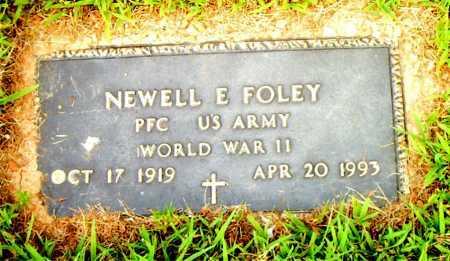 FOLEY  (VETERAN WWII), NEWELL E - Boone County, Arkansas   NEWELL E FOLEY  (VETERAN WWII) - Arkansas Gravestone Photos