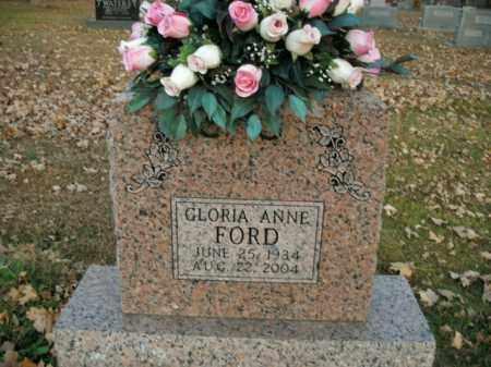 FORD, GLORIA ANNE - Boone County, Arkansas   GLORIA ANNE FORD - Arkansas Gravestone Photos